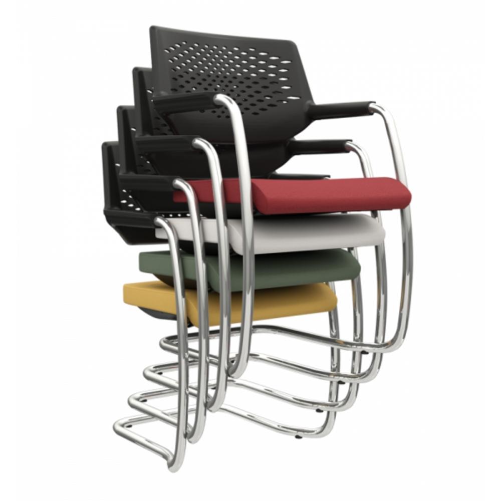 Cadeira piena cromada Plaxmetal